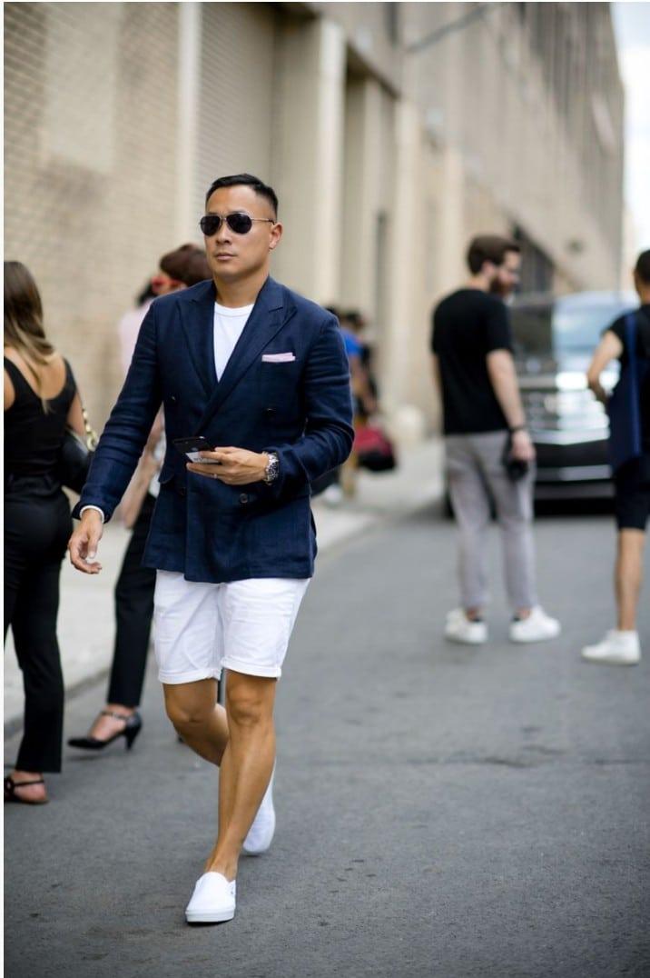 15 Looks de Street Style diretos da Semana de Moda Masculina de New York f