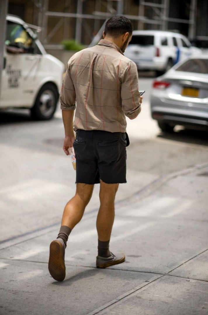 15 Looks de Street Style diretos da Semana de Moda Masculina de New York g g