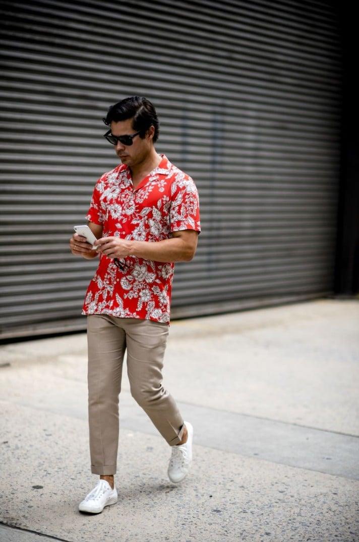 15 Looks de Street Style diretos da Semana de Moda Masculina de New York g