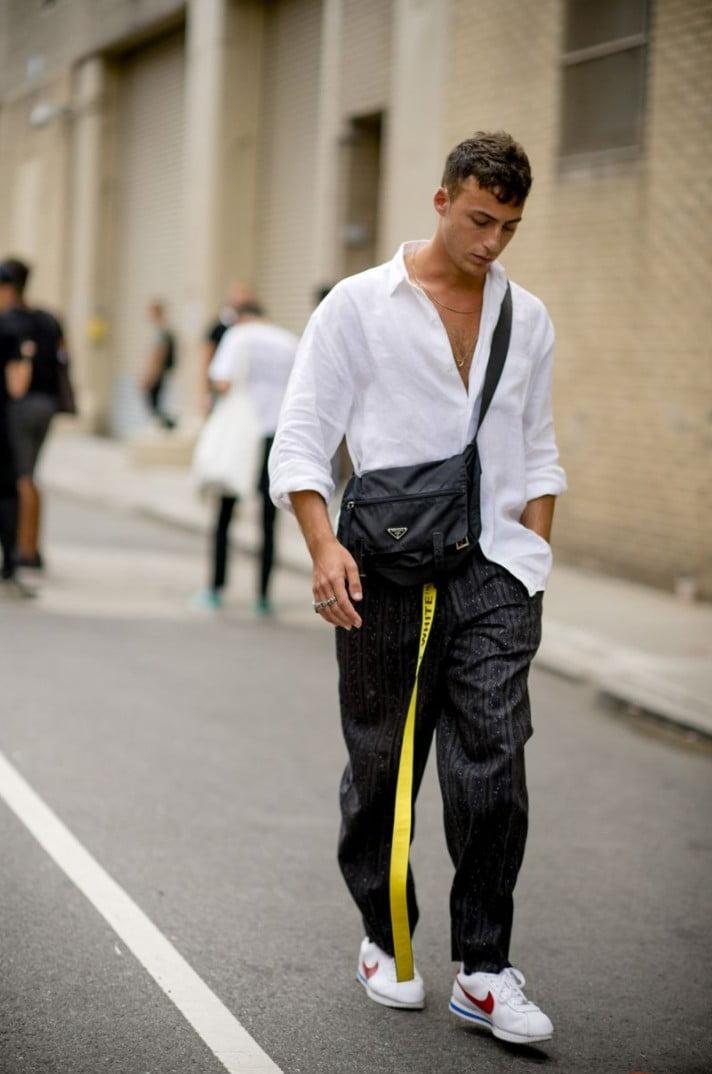 15 Looks de Street Style diretos da Semana de Moda Masculina de New York h