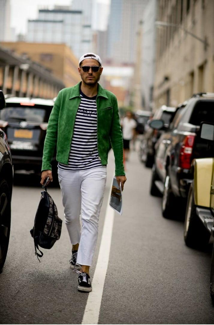15 Looks de Street Style diretos da Semana de Moda Masculina de New York r