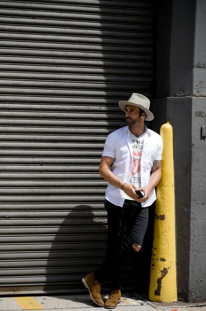 15 Looks de Street Style diretos da Semana de Moda Masculina de New York v