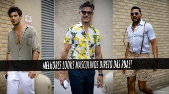 b melhores Looks de Street Style diretos da Semana de Moda Masculina de New York a a