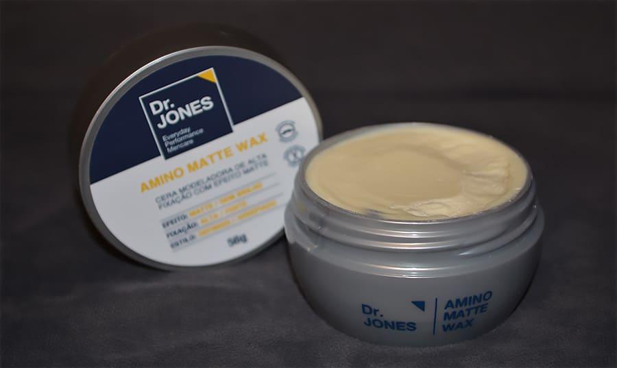 cera amino matte wax da dr jones por homens que se cuidam juan alves