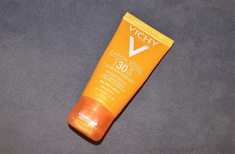 cuidados com a pele masculina protetor solar capital soleil da vichy homens que se cuidam