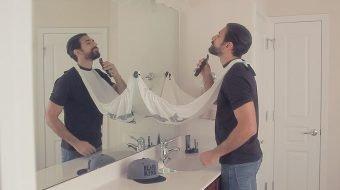 a Sujeira na Hora de Fazer a Barba Nao Mais com a Capa de Barbear