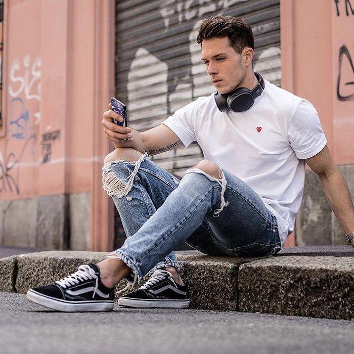 Resultado de imagem para tênis vans moda masculina
