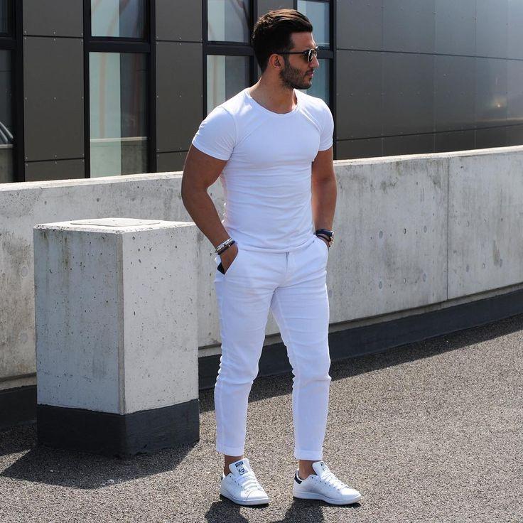 Looks All White Masculino Em Alta Pro Ver 227 O 2018 Homens