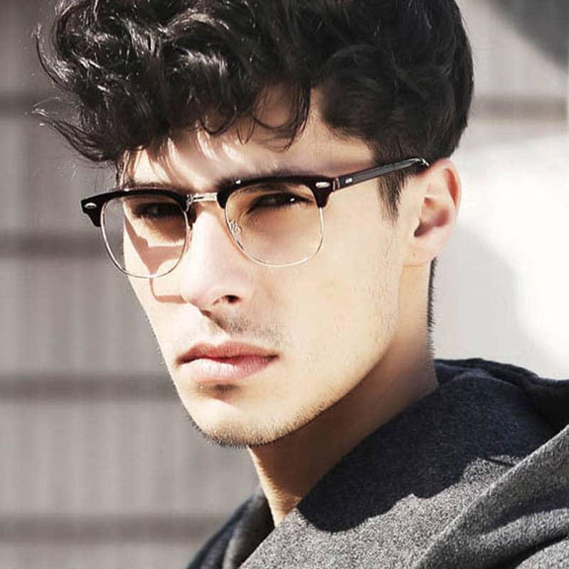 76f849ec0f45a Óculos de Grau Ideal para cada Formato de Rosto Masculino   - Homens ...