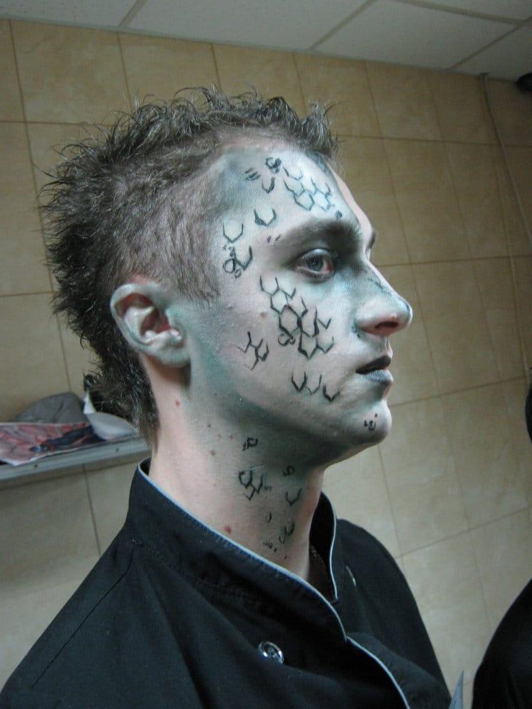 Maquiagem Masculina De Halloween Vem Se Inspirar