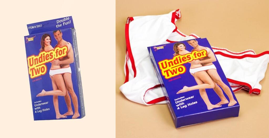 Underwear bizarra pro dia dos namorados a