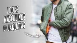 capa looks masculinos com jaqueta