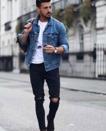 jaqueta jeans masculina 1 8 homens que se cuidam por juan alves