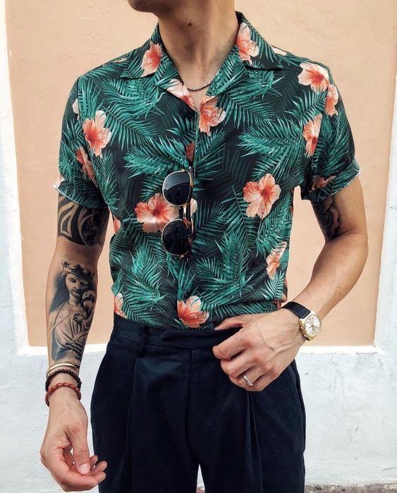 Resultado de imagem para calça de alfaiataria com camisa colorida moda homem