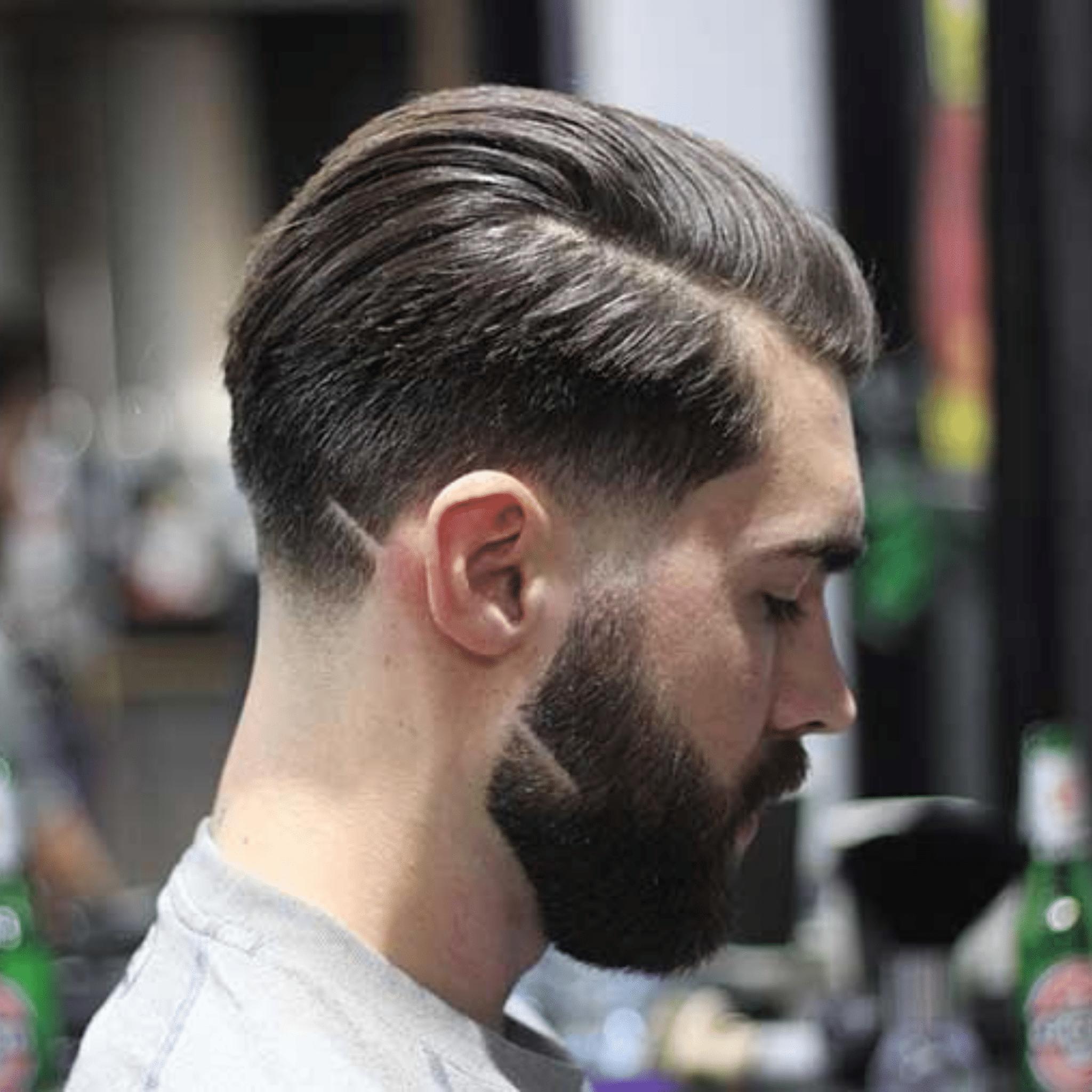 barba com risco
