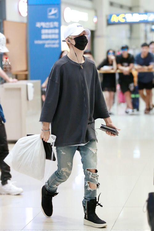 camisa larga k-pop