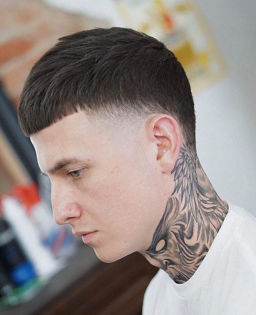 corte masculino curto caesar c