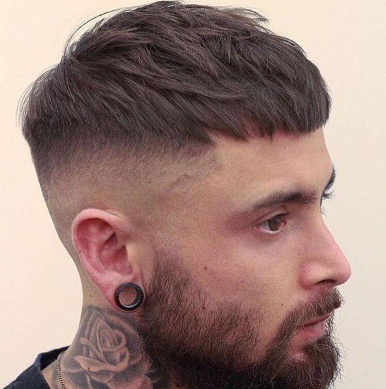 corte masculino curto caesar b