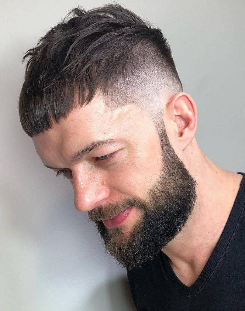 corte masculino curto caesar d