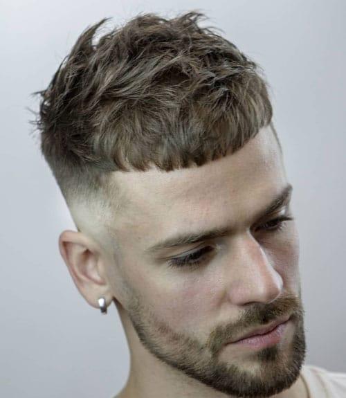 corte masculino curto caesar