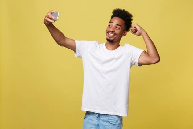 como tirar selfie