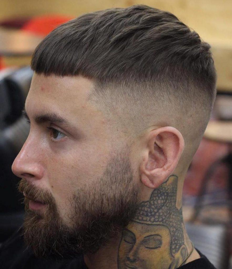corte masculino curto high fade b