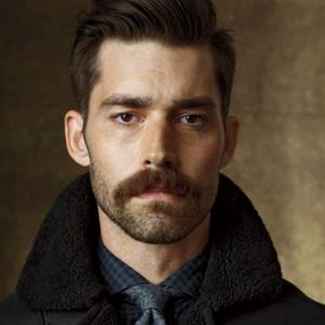 Barba stache