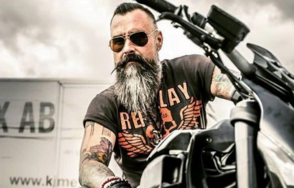 barba de motoqueiro