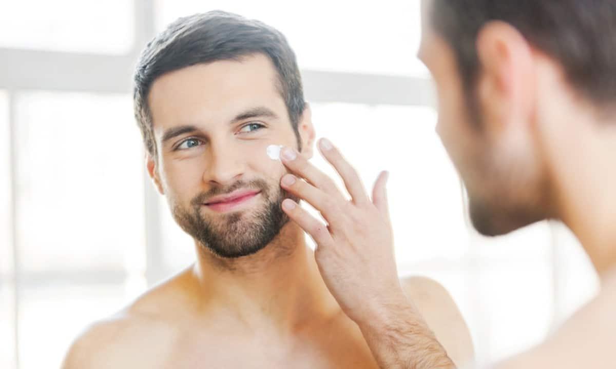 hidratação pele masculina