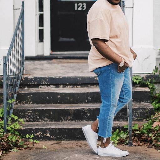 calça jeans masculina look