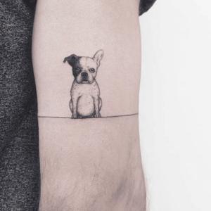 Tatuagem de pet masculina