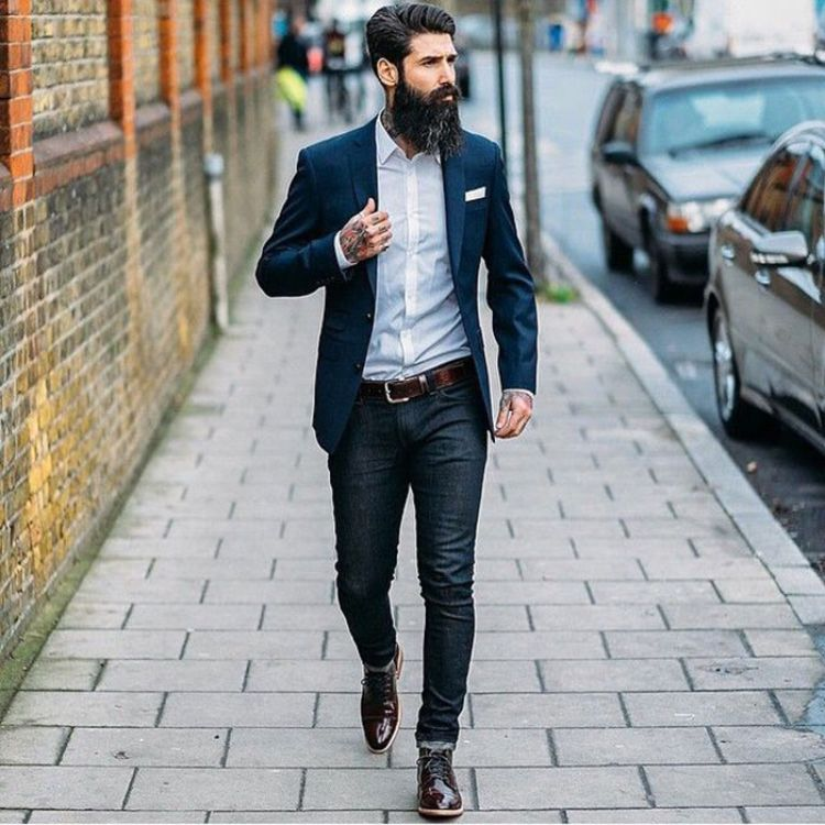 esporte fino masculino jeans