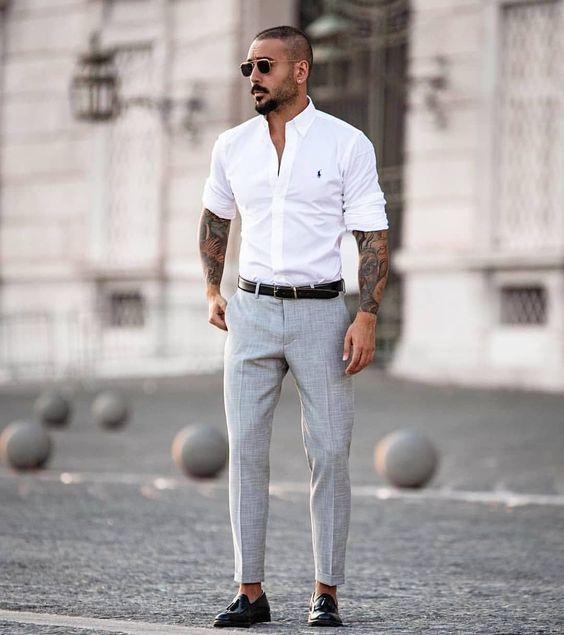 esporte fino masculino camisa
