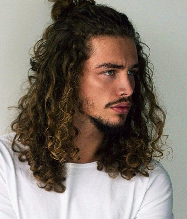 Corte messy waves masculino