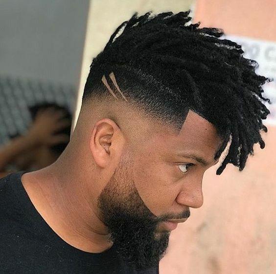 corte masculino Side zero hairstyle