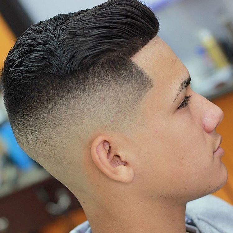 corte degradê masculino cabelo liso