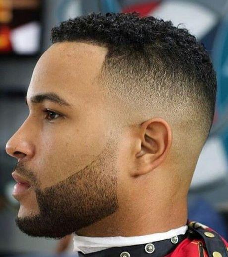 corte degradê masculino cabelo crespo