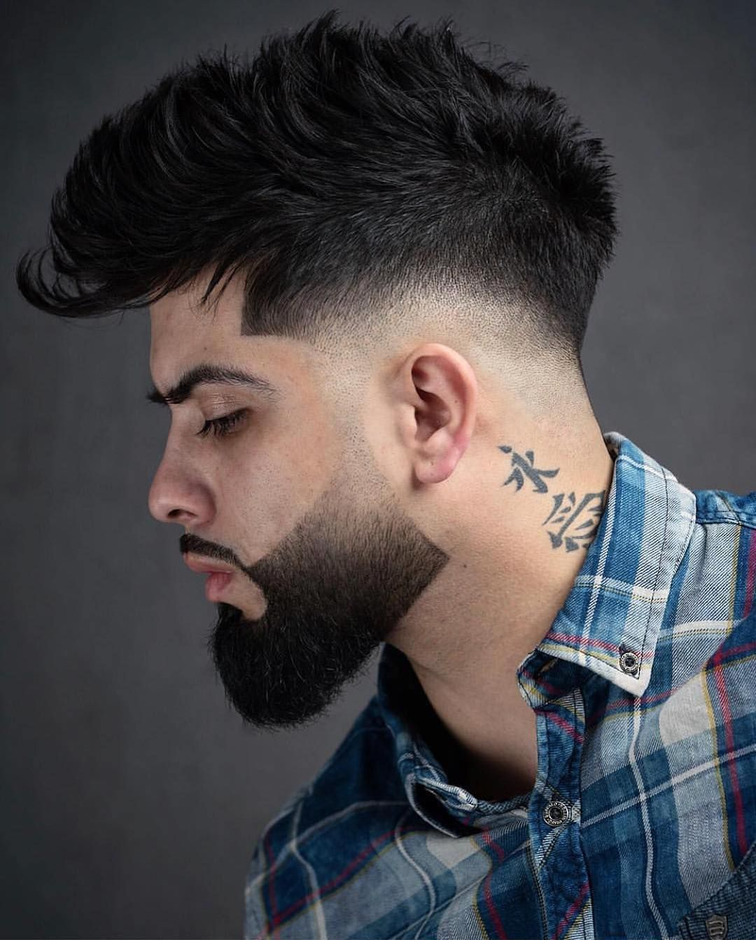 corte degradê masculino cabelo comprido