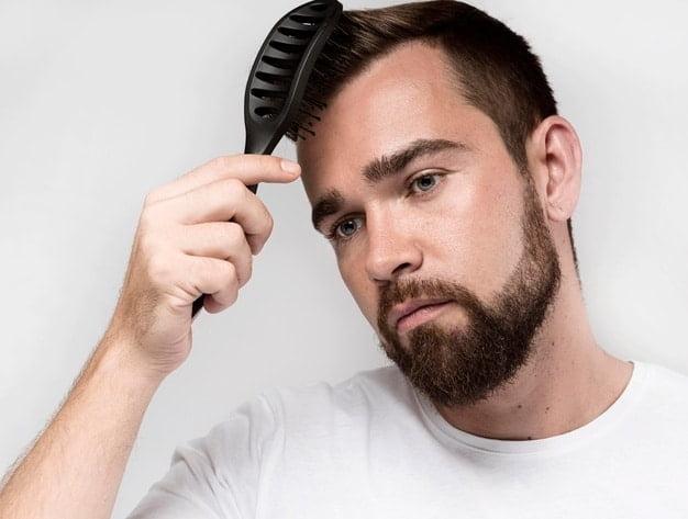 estímulo para crescimento do cabelo masculino