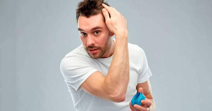 crescimento de cabelo masculino