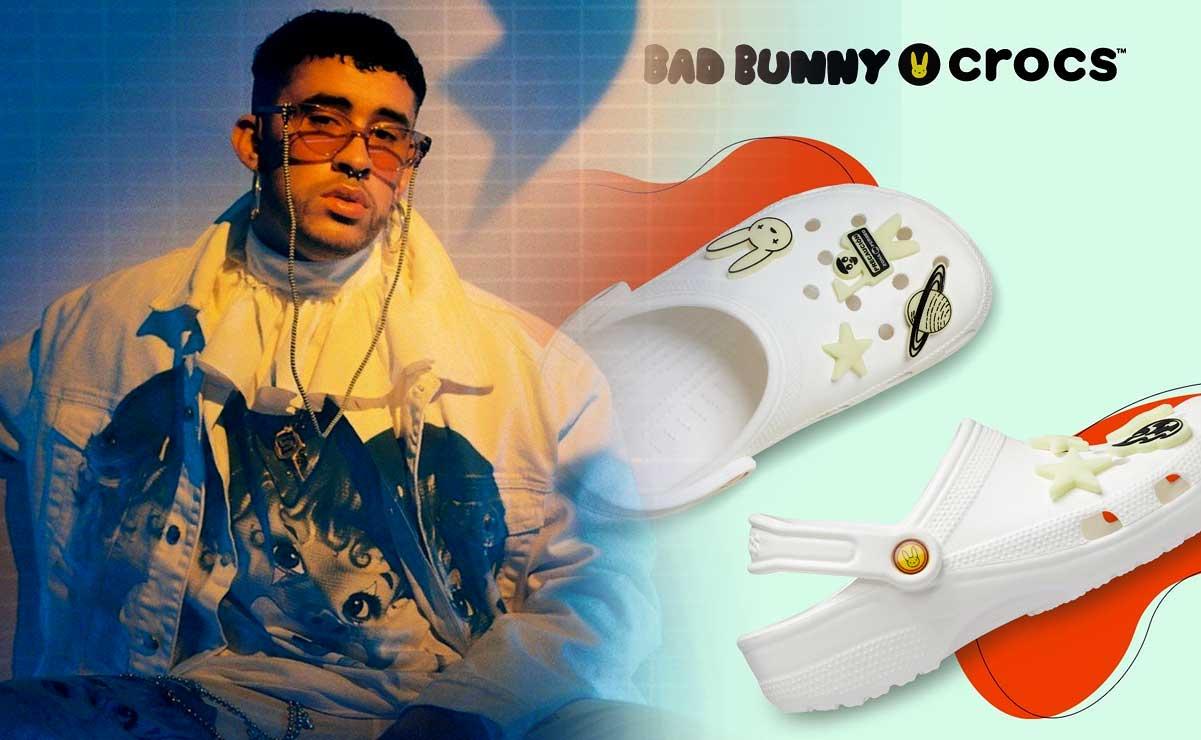 Bad Bunny faz parceria com A Crocs