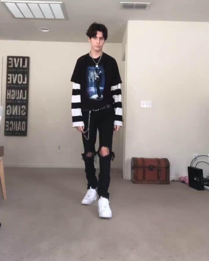 estilo e-boy masculino