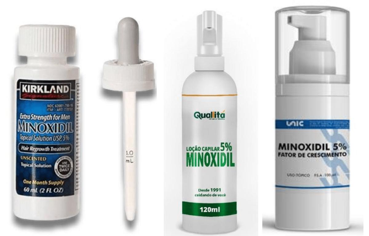 tipos de minoxidil