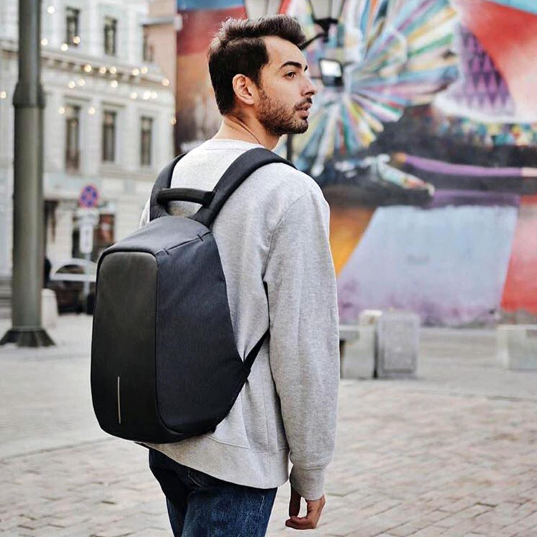 mochila antifurto masculina