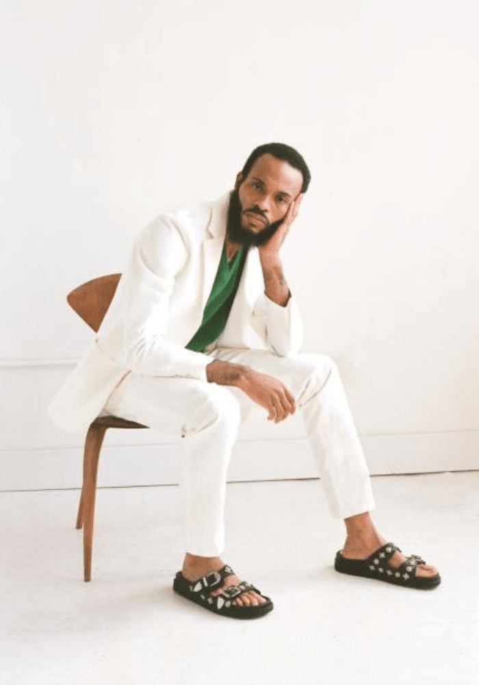 Sandalia masculina moda 2021