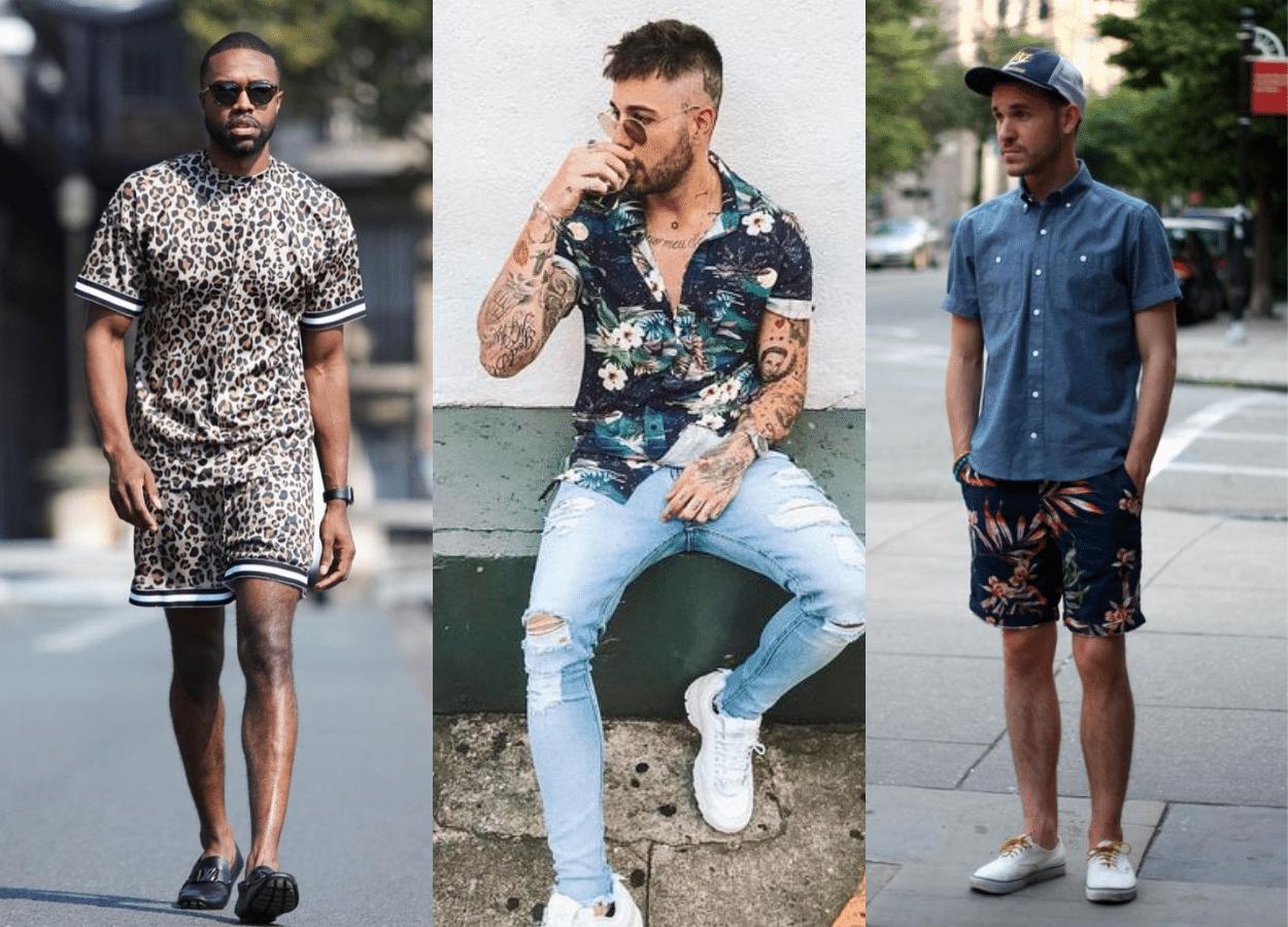 Moda masculina verão 2021
