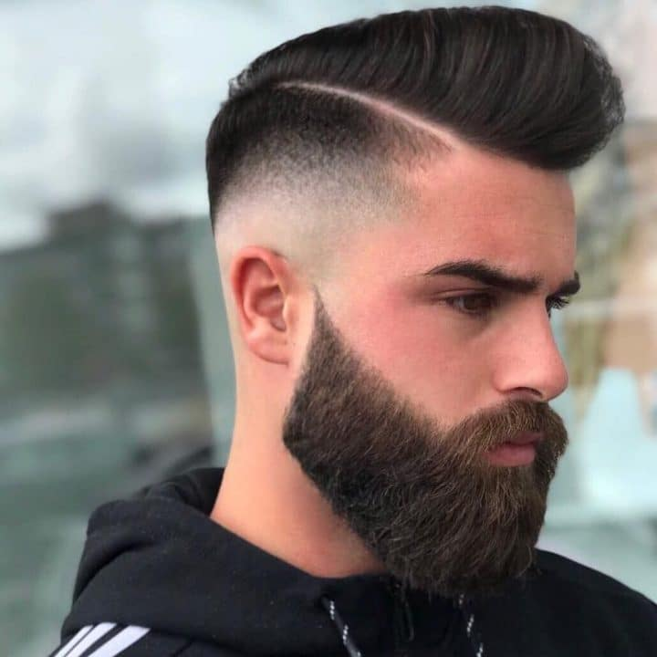 Barba quadrada