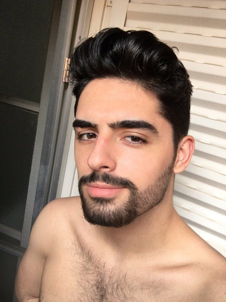 barba com cavanhaque