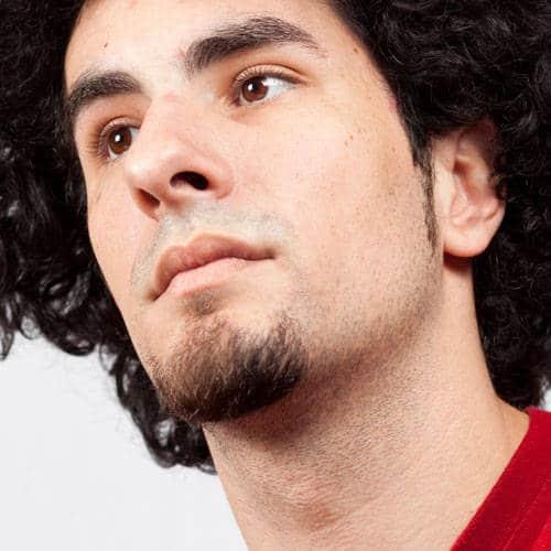 cavanhaque sem bigode