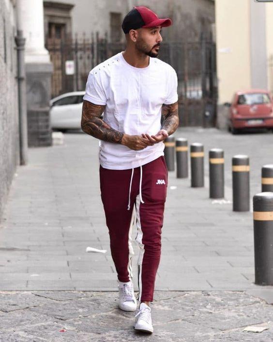 boné look masculino